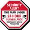 Farm Under Video Surveillance Sign