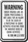 Virginia Equine Liability Sign