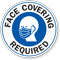 Face Covering Required Face Covering Window Decal
