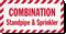 Combination Standpipe Sprinkler Label