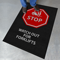 Watch For Forklifts Safety Message Mat