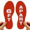 6 Ft. Apart Footprints Floor Marker