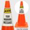 Custom ANSI Caution Cone Collar
