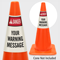 Custom ANSI Danger Cone Collar