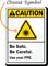 Custom Ansi Ultraviolet Light Use PPE Sign