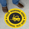 Custom Warning Circular SlipSafe™ Floor Sign