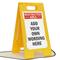 FloorBoss XL™ Custom Floor Stand Sign