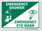 Emergency Shower / Emergency Eye Wash Sign