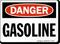 Danger Gasoline Sign
