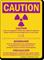 If Pregnant Notify Technologist OSHA Multilingual Caution Sign