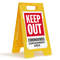Keep Out Containment Area FloorBoss Sign