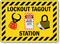 Lockout Tagout Station Sign