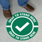 Okay To Stand Here SlipSafe Floor Sign