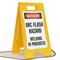 OSHA Danger Arc Flash Hazard Welding Standing Floor Sign