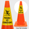 Possible Icy Conditions Cone Collar