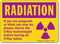 Radiation Precautions In Pregnancy Sign