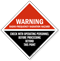 Warning Radio-Frequency Radiation Hazard Sign