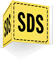 SDS 2-Sided Projecting Sign With Border