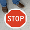 Stop SlipSafe™ Floor Sign