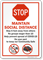 Stop Maintain Social Distance Stay 6 Feet Away Sign