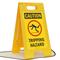 Caution Tripping Hazard W/Graphic Fold-Ups® Floor Sign