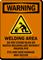 Welding Area Don't Stand Near Welding Arc Sign