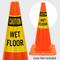 Caution Wet Floor Cone Collar